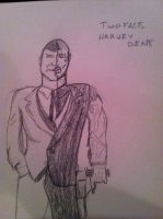 Harvey Dent/Two Face by Frosty2011