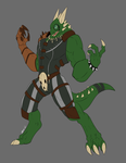 Commission Balasar Ragetail by UndeadKitty13