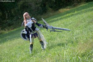 Final Fantasy XIII-2 - Lightning by EveilleCosplay