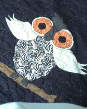 OWL QUILT front by ejcreations