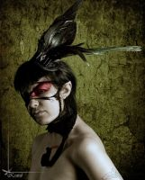 Roadkill Ravenswing Fascinator by Kestrel01