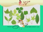 leaves png 12P by outgirl