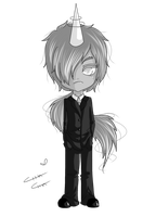 Lord Monochromicorn by MissElysium