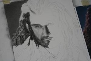 Thorin Oakenshield Progress by Angelstorm-82