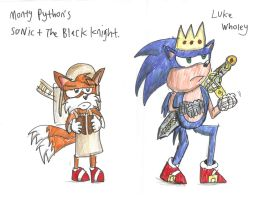 Monty Python's Sonic and the Black Knight by Luke-the-F0x