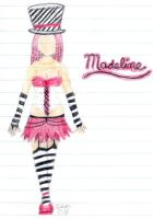 madeline a'la notebook paper by kaotic-sammii