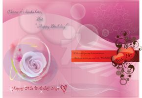 BirthdayCard for SweetHeart B by phyoeminthaw