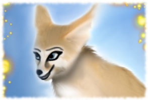 Fennec by HellmotherEva