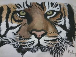 Bengal Tiger Painting by MarieMystery