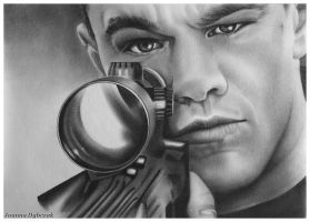 Matt Damon by djoasia