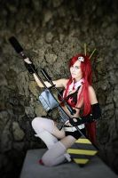 Yoko Littner cosplay: I don't run away. by MadnessGottaBody