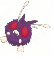 Kanto no. 048 Venonat by Randomous
