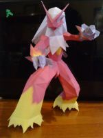 Blaziken Papercraft by Prife7