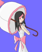 umbrella girl by haha-tommy