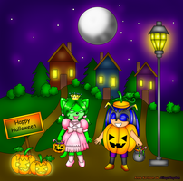 -:trick or treat:- by AilwynRaydom