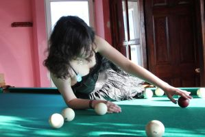Maya and billiard 15 by Panopticon-Stock