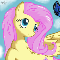 Fluttershy Updated by xVoomertx
