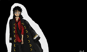 Strong World Luffy by AlphonseElric411