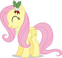 Mlp Fim Fluttershy (happy#2) vector by luckreza8