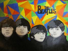 The Beatles FOR SALE by xCheshireGrin228