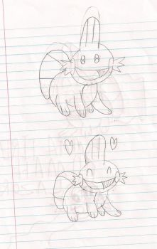 my 1st mudkips by evilgaaratwin