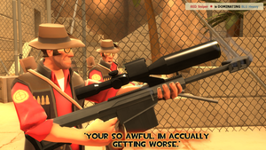 YOU CALL THAT A SNIPER RIFLE? by RAGEPANDDEMOMAN