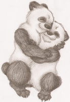 Panda Love by Who-Took-My-Pie