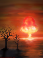 Explosion by Irkis