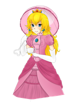 Princess Peach by Brain-Artist