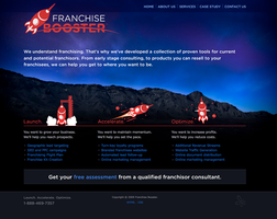 Franchise Booster Website by spryagency