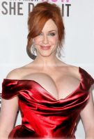 A even more voluptuous Christina Hendricks by incredibleB