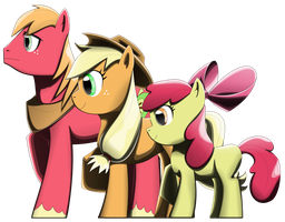 The Apple Siblings by Arby-Works