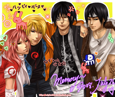 Team 7.1 Purikura by miho-nyc
