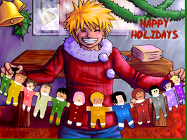 Naruto Holidays by soltian