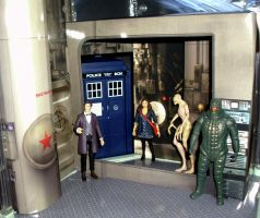 Doctor Who - Cold War Playset by CyberDrone