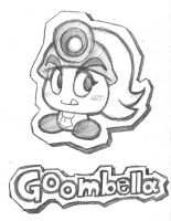 Goombella sketch by rongs1234