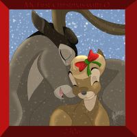 ST:DA:Christmas with Q by SaddlePatch