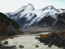 mountainsketcher3 by Chenthooran