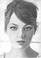 Emma Stone by WeskerGray