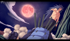 Naruto 661 - killer madara by pollo1567