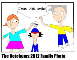 Ketchum Family Photo by Anichhik