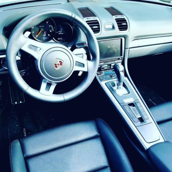 Inside the Porsche by Phaylo