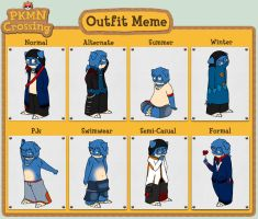 PKMC - Outfits by Lazy-a-Ile