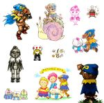 Mario RPG doodles by aru0