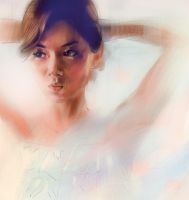 digital portrait sketch 8 by Cok3ster