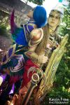 Valkyries of Sun and Moon by OshleyCosplay