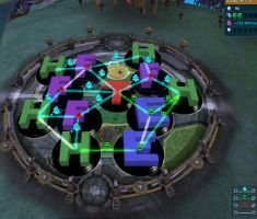 Spore Example Town - Alt View by BecauseICould