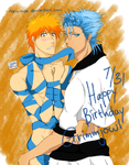 7.31 Present for Grimmjow by Naru-Nisa