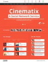 Cinematix - Social Network Template by wpthemes