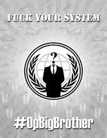 Fuck Your System 1 - PRINT by OpGraffiti